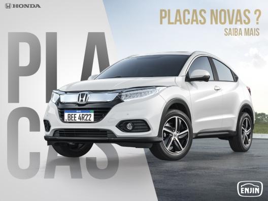 Capa blog_Honda Enjin_Placa Mercosul 2020